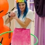 Hula Hoop Performance with Mackenzie