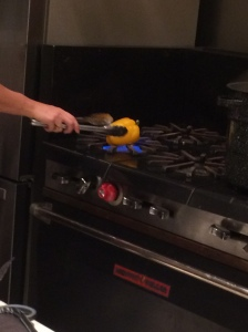 How about roasting peppers on the gas stove!