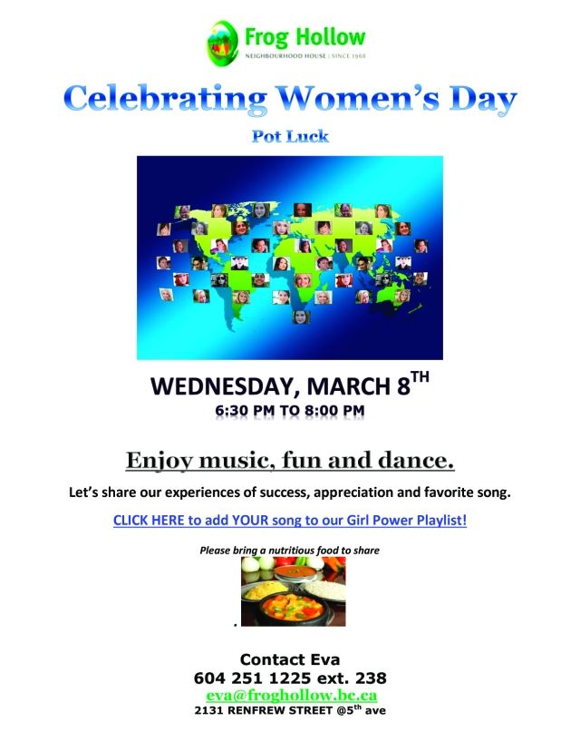 womens-day-pot-luck-girl-power-march-8th-2017